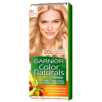 Краска для волос Garnier Color Naturals с 3-мя маслами №9.1 Солнечный пляж