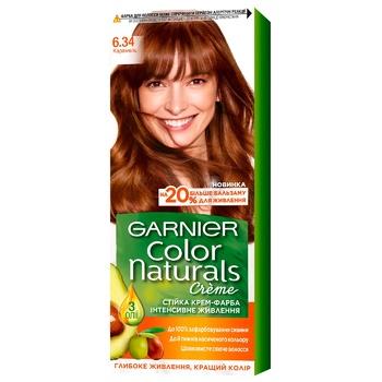Крем-краска для волос Garnier Color Naturals 6.34 Карамель