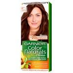 Краска для волос Garnier Color Naturals Creme с 3-мя маслами №4 1/2 Темный шоколад