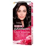 Garnier Color Sensation №2.0 Cream hair dye Black diamond