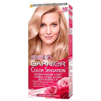 Garnier Color Sensation 9.02 Blond Hair Color - buy, prices for CityMarket - photo 1