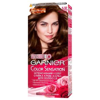 Garnier Color Sensation Hair Dye 5.32 Golden Chocolate 110ml