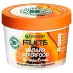 Маска Garnier Fructis Superfood Папайя для пошкодженого волосся 390мл