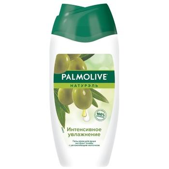 Гель-крем для душа Palmolive Натурэль Интенсивное увлажнение Олива и увлажняющее молочко 250мл