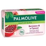 Мило для обличчя і тіла Palmolive Натурель Вітамін B і Гранат туалетне 150г