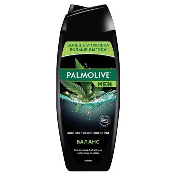 Гель для душу Palmolive Men Баланс з екстрактом насіння коноплі 500мл