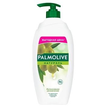 Гель-крем для душа Palmolive Натурэль Интенсивное увлажнение Олива и увлажняющее молочко 750мл