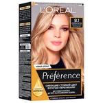 Краска для волос L'Oreal Paris Recital Preference 8.1 Копенгаген светло-русый пепельный