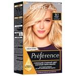 Краска для волос L'Oreal Paris Recital Preference 9.1 Викинг очень светло-русый пепельный