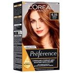 Фарба для волосся L'Oreal Paris Recital Preference 6.35 Гавана Світлий бурштин