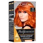 Фарба для волосся L'Oreal Paris Recital Preference 74 Манго інтенсивний мідний