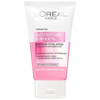 Гель-мус  Loreal Dermo Expertise для сухой и чувствительной кожи 150мл