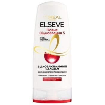 L'Oreal Paris Elseve Hair balm Complete Recovery 5 for damaged hair 200ml