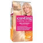 Фарба-догляд для волосся L'Oreal Paris Casting Creme Gloss 1021 Світло-світло-русявий перламутровий без аміаку