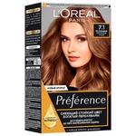 Фарба для волосся L'Oreal Paris Recital Preference 7.1 Ісландія попелястий русявий
