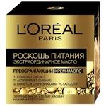 Крем-масло для лица L'Oreal Paris Роскошь питания 50мл