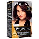 Фарба для волосся L'Oreal Paris Preference 3.12 Мулен Руж Глибокий темно-коричневий