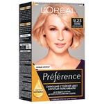 L'Oreal Paris Recital Preference 9.23 Hair dye Pink platinum