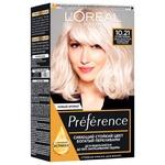 Фарба для волосся L'Oreal Paris Recital Preference 10.21 Стокгольм світло-світло-русявий перламутровий освітлюючий