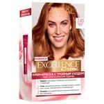 Крем-краска для волос L'Oreal Excellence Creme 7.43 медный русый