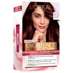 Крем-фарба для волосся L'Oreal Paris Excellence морозний шоколад №4.15