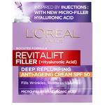 L'Oreal Paris Revitalift Filler SPF50 Anti-Aging Day Cream 50ml
