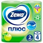 Zewa Plus Toilet paper apple flavor 2 layers 4pcs
