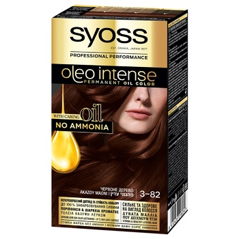 SYOSS Oleo Intense 3-82 Red Wood Ammonia Free Hair Due 115ml - buy, prices for Auchan - photo 1
