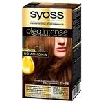 Краска для волос без аммиака SYOSS Oleo Intense 5-86 Карамельный каштановый 115 мл