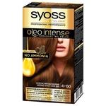 Фарба для волосся SYOSS Oleo Intense без аміаку золотистий каштановий 4-60