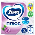 Zewa Plus Toilet paper aroma of lilac two-layer 4pcs