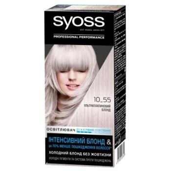 SYOSS5 Salonplex 10-55 Hair Brightener Ultra platinum blond