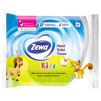 Zewa Kids wet toilet paper 42pcs