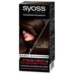 Syoss 3-1 Dark Brown Hair Dye