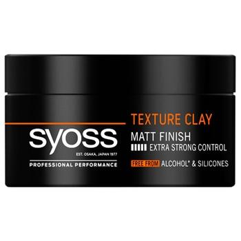 Глина для волос SYOSS Texture Clay Фиксация 5 100мл