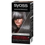 SYOSS Hair Cream Dye 4-15 Smoky Chrome 115ml