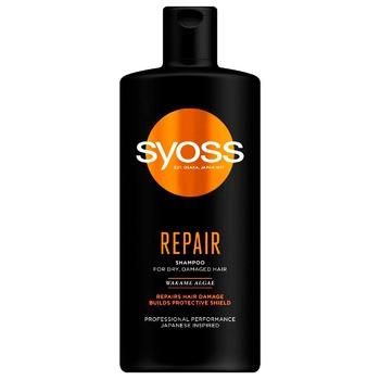 Шампунь Syoss Repair для сухих и поврежденных волос 440мл