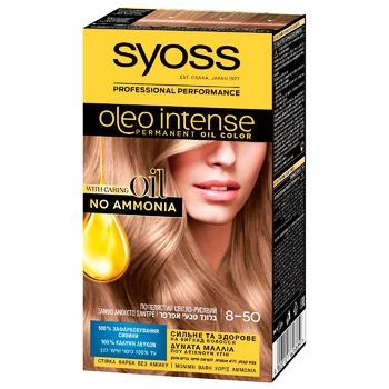 Краска для волос Syoss Oleo 8-50 Пепельный светло-русый