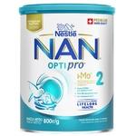 Cуміш молочна Nestle Nan 2 Optirpo суха від 6 місяців 800г