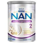 Dry milk formula Nestle Nan 2 hypoallergenic for 6+ month babies 400g