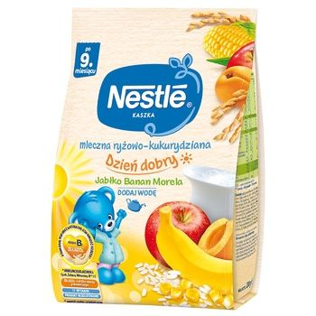 Nestle Baby Milk Rice Corn Porridge With Apple Banana Apricot - buy, prices for UltraMarket - photo 1