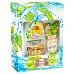 Подарунковий набір Family Doctor №1 Міцелярна вода для всіх типів шкіри 265мл + Крем для рук Активне зволоження 75мл
