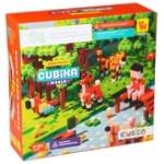 Деревянный конструктор-сюрприз Cubika World Животные