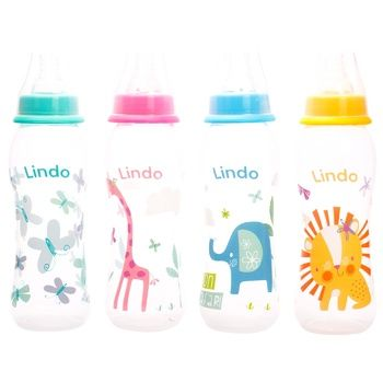 Lindo Li 145 With Silicone Nipple Bottle 250ml - buy, prices for CityMarket - photo 1