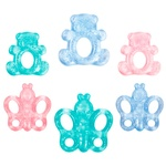 Lindo Teethers with distilled water