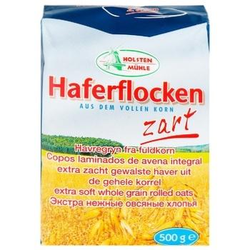 Хлопья овсяные Брюгген Хаферфлокен из цельного зерна 500г - купить, цены на Метро - фото 1