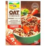 Bona Vita Oat Groats with Strawberries Dry Breakfast 350g