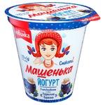Romol Mashenka Bilberry Jam Flavored Yogurt 5% 270g