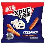 Khrusteam Squid Flavored Wheat-Rye Crackers 110g