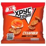 Сухарики Хрусteam пшенично-ржаные со вкусом лосося 110г